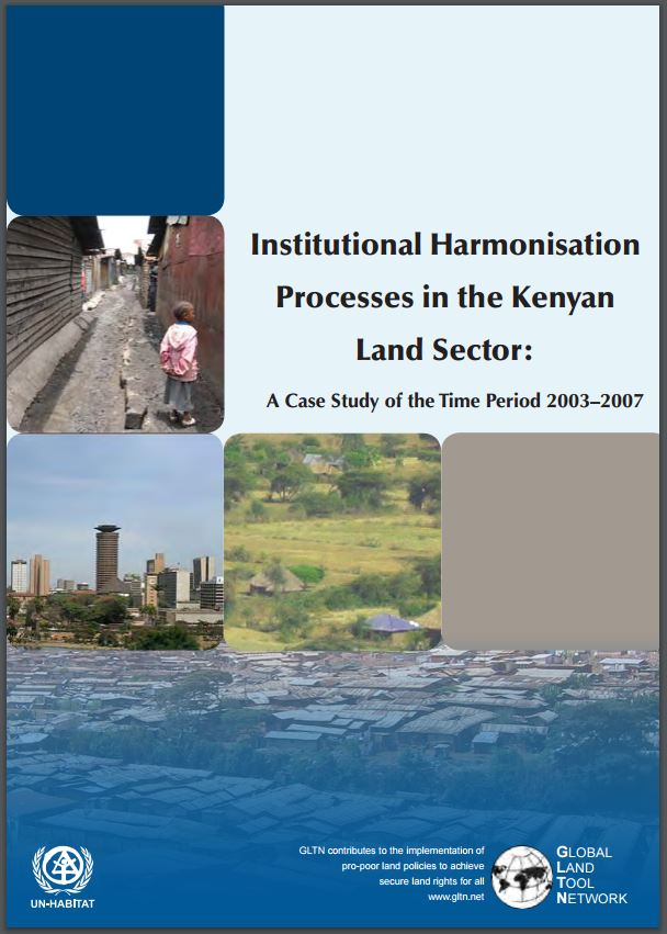Institutional Harmonisation Processes in the Kenyan Land