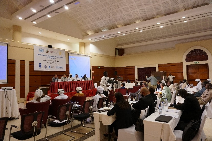 Khartoum hosts a Land Conference to discuss challenges and opportunities to support peace and stabilization through good land governance in Sudan