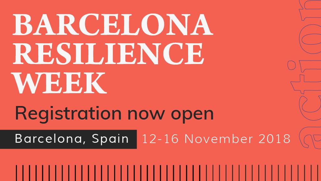Barcelona Resilience Week 2018