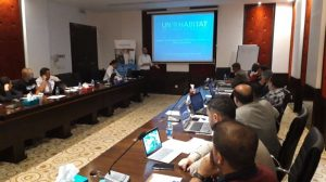 Land actors and officials from Sinjar and Mosul, Iraq attend the on GLTN tools and approaches