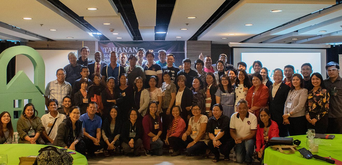 Participants of the TAHANAN Secure Tenure Summit 2019
