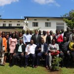 Participants of the learning exchange in Mbale, Eastern Uganda