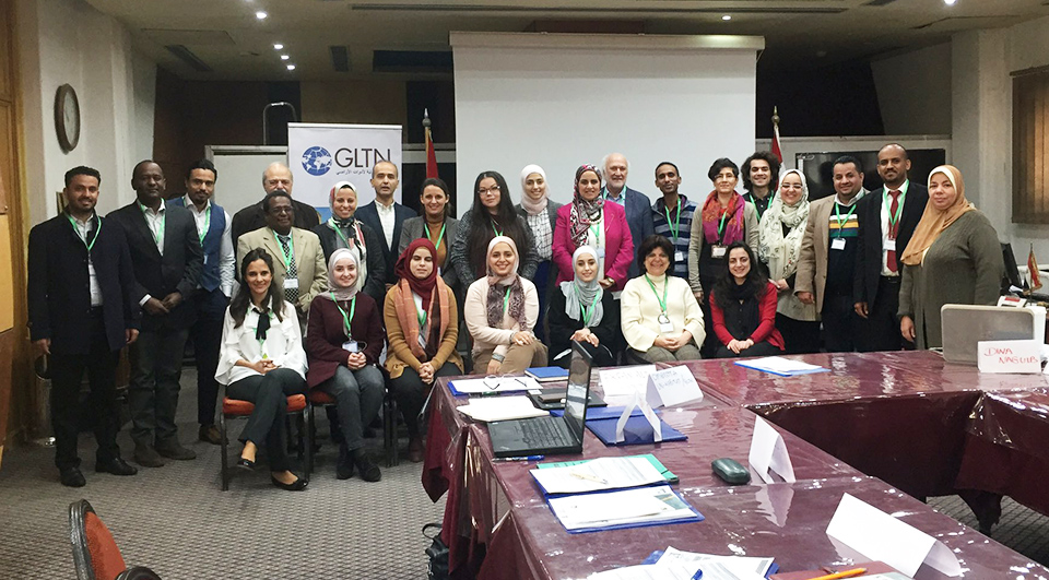 Represented organisations: Arab Group for the Protection of Nature; RASHEED TI; Union of Agricultural Work Committees; the Urban Training Institute; Lebanese Center for Policy Studies; ISTIDAMA; Arab Union of Surveyors; International Youth Council Yemen; Global Land Tool Network/UN-Habitat; UN-Habitat Regional Office for Arab States