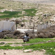 Bedouins in Massafer Yatta area, Hebron, Photo: UN-Habitat (2015)