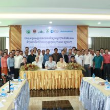 District Government staff from Luang Prabang & Xiangkhouang provinces at a data validation workshop in in Vangvieng district in Vientiane Province, Laos